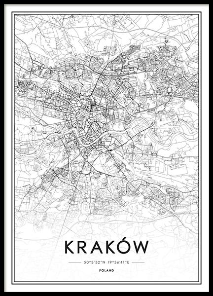 Obrazy I Plakaty Z Mapą świata I Miastami Mapa Nowego