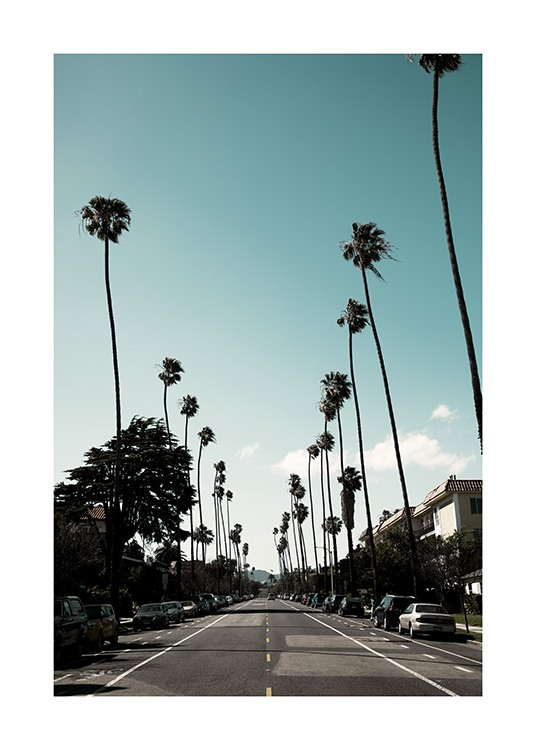 Street of Los Angeles Plakat / 50x70 cm w Desenio AB (10785)