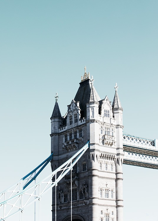 Tower Bridge Plakat / Fotografia w Desenio AB (11356)